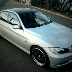 Bmw e90 2008 318d modifications